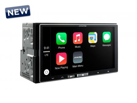 "Alpine 7"" érintőképernyős CarPlay multimédia ILX-700"