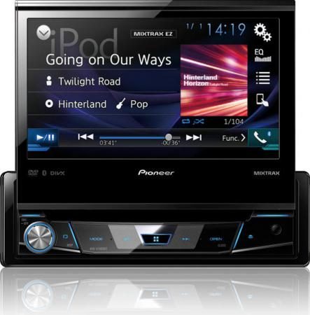 "Pioneer 7&""  CD/MP3/WMA/WAV/AAC/DivX/Xvid/MPG1/2/4/JPG/Appradio multimédiás fejegység AVH-X7800BT"